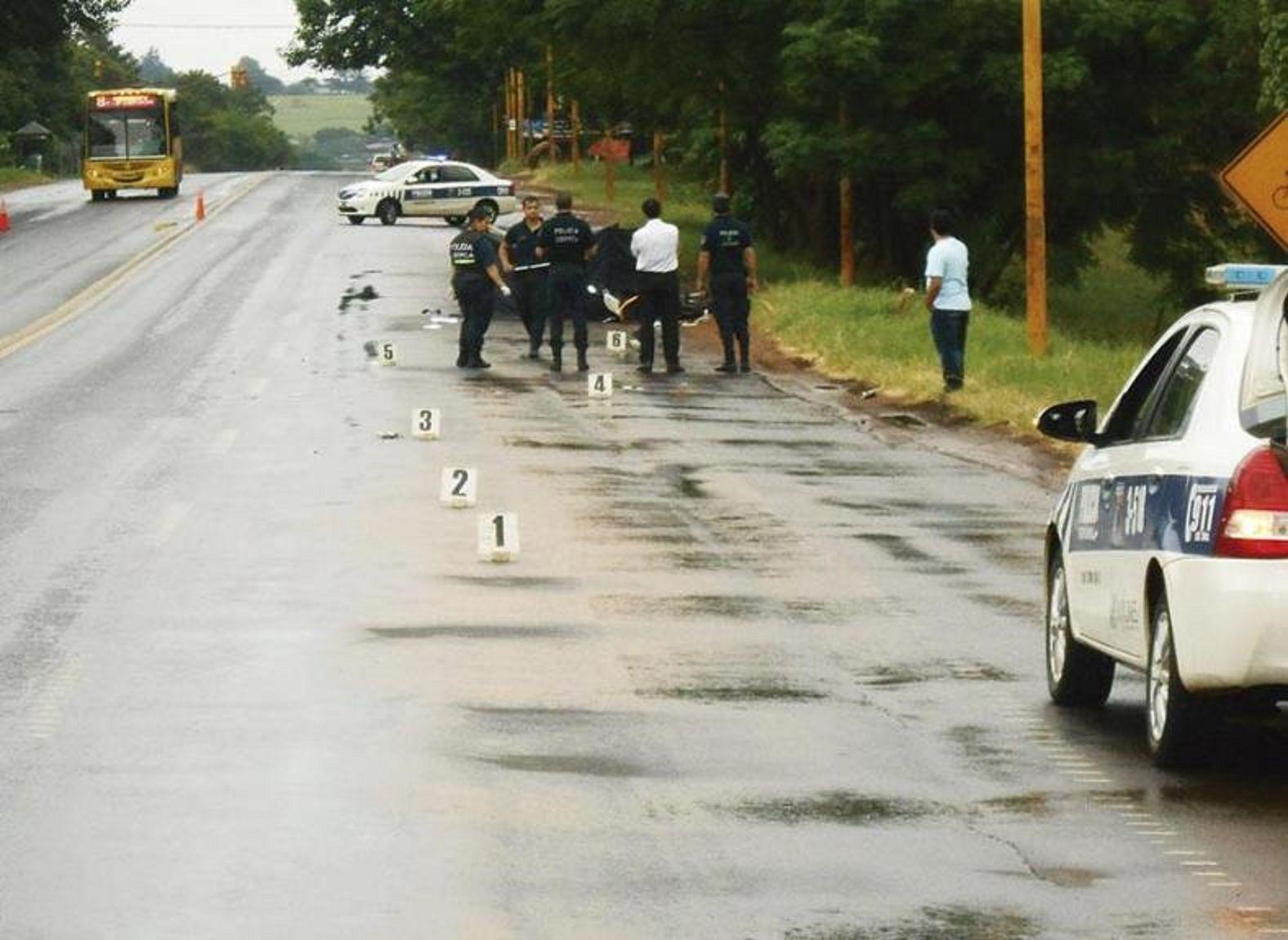 El accidente ocurrió en enero de 2016 en la avenida Quaranta entre Zapiola y 115 en Posadas.