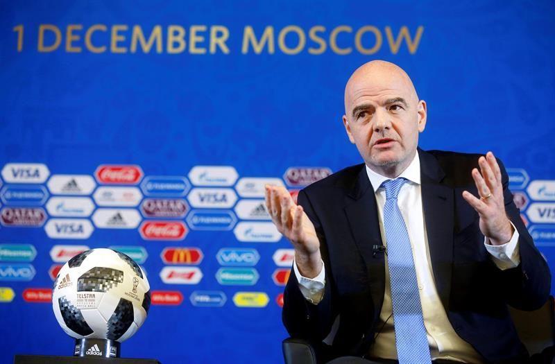 Para Gianni Infantino, Rusia 2018 será el mejor Mundial de la historia