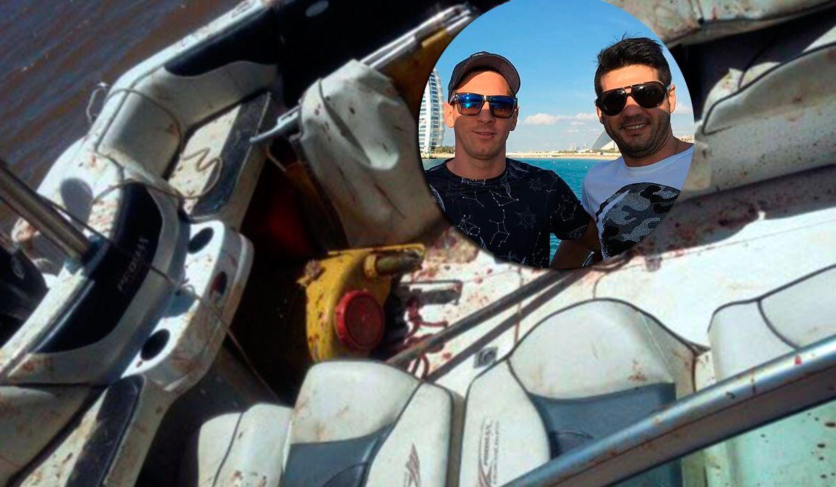 Matías y Lionel Messi