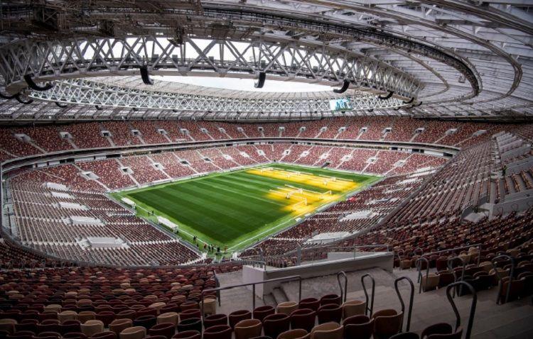 El estadio Luzhniki será la casa de aquel que caiga en el Grupo B