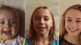 VIDEO: Pasó de ser bebé a una adolescente en 5 minutos