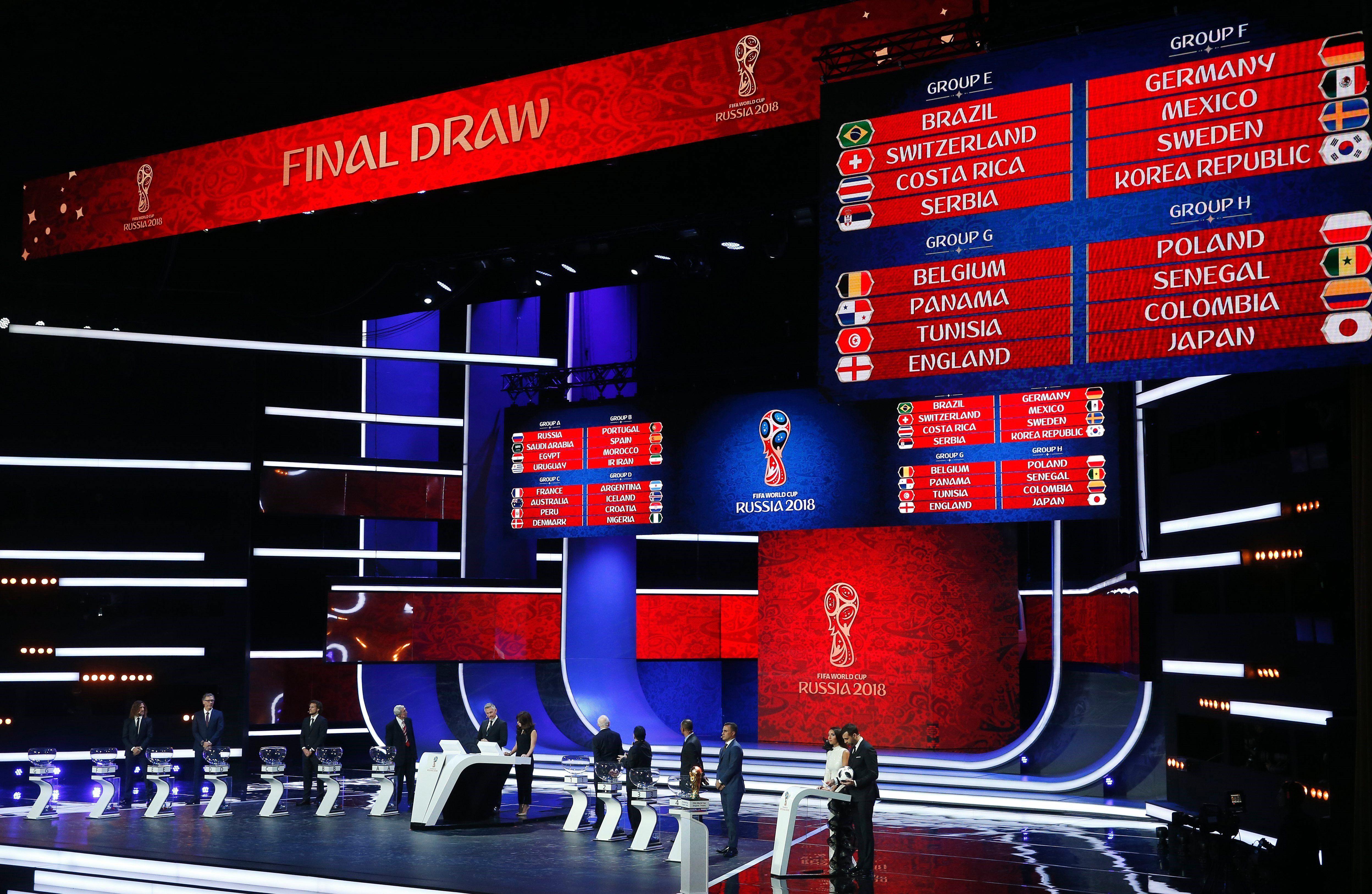Rusia 2018: ¿cuál es el grupo más difícil del Mundial?