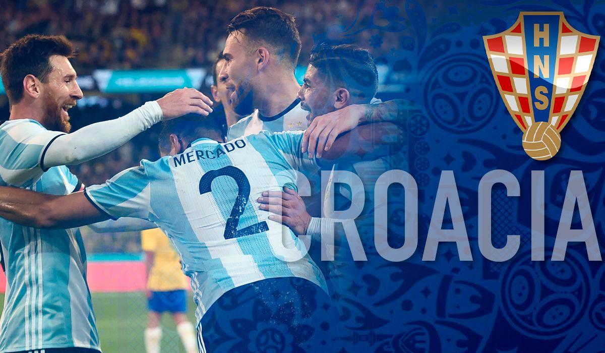 Horario, día y sede: ¿cuándo jugará Argentina con Croacia en el Mundial 2018?