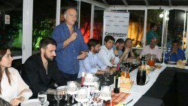 Néstor Grindetti encabezó la reunión de la tercera sección