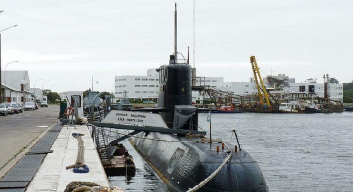 ARA Santa Cruz: el submarino gemelo que se usará para los peritajes del ARA San Juan
