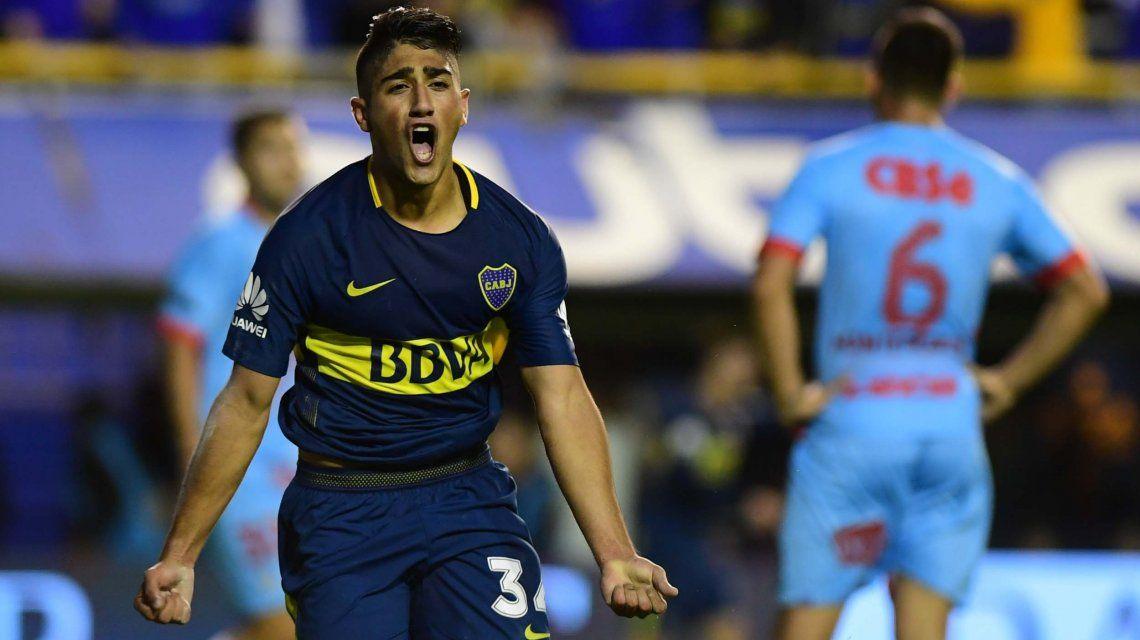 Boca le ganó a Arsenal en la Bombonera y vuelve a trepar a lo más alto