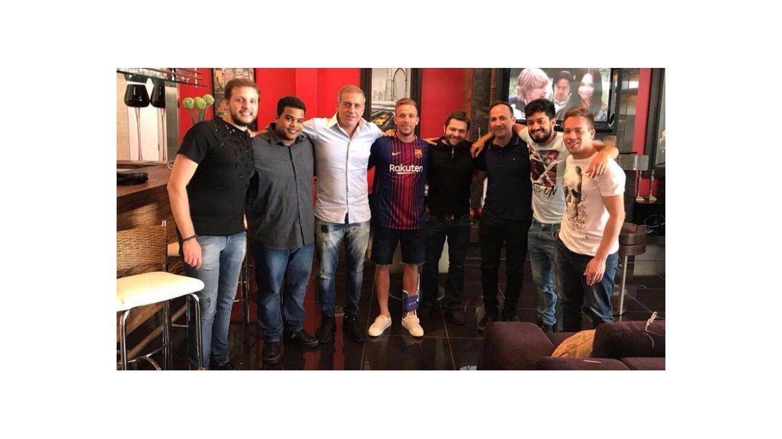 La foto de la polémica: por esta imagen, Gremio demandará al Barcelona
