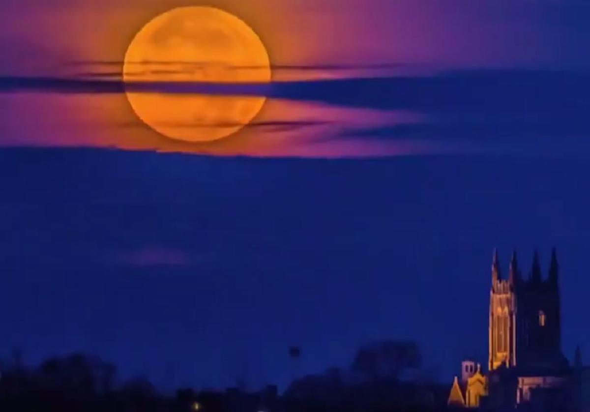 El increíble video que muestra el paso de la Superluna