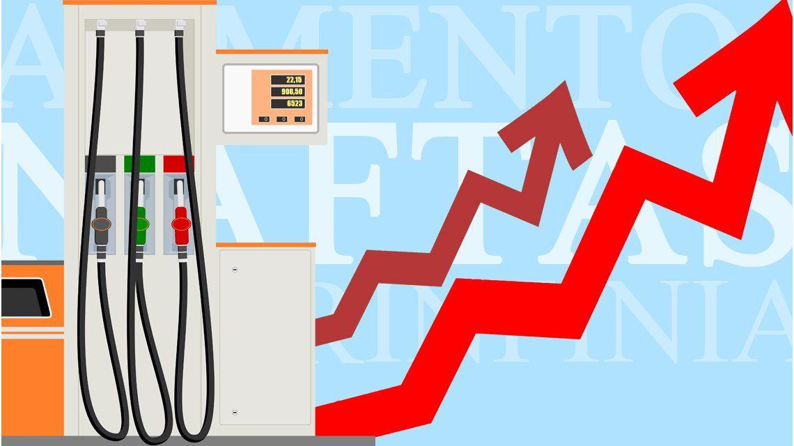 En 2017, la nafta súper pasó de $17,08 a $22,66: mirá cómo aumentó en la era Macri