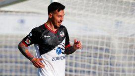 Fabbro comenzó a jugar en el club hace unos meses