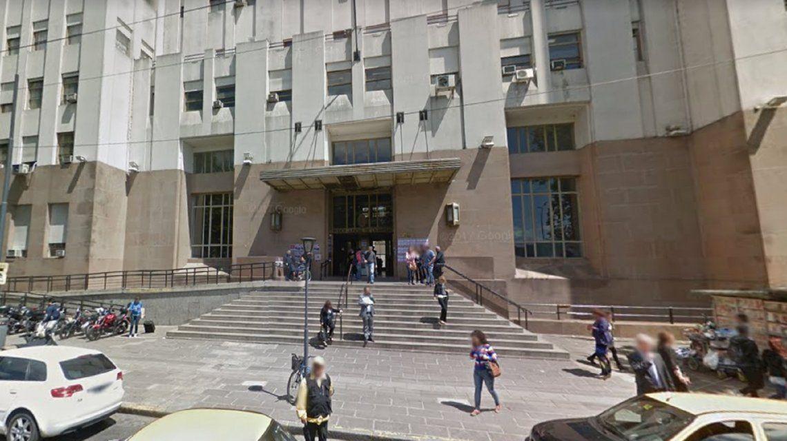 Conmoción en Tribunales: se escapó un tiro e hirió a un funcionario judicial