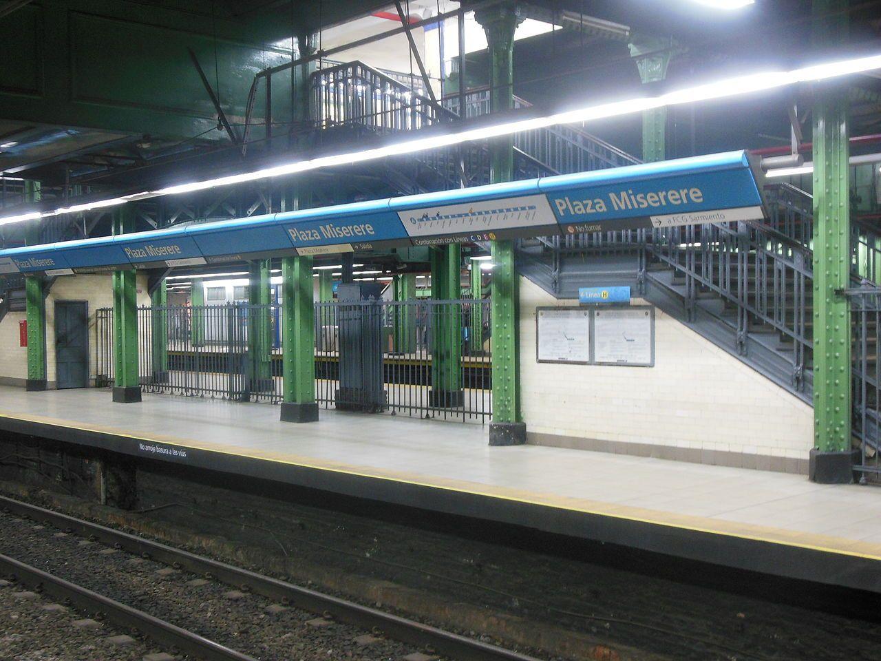 Estación Plaza Miserere