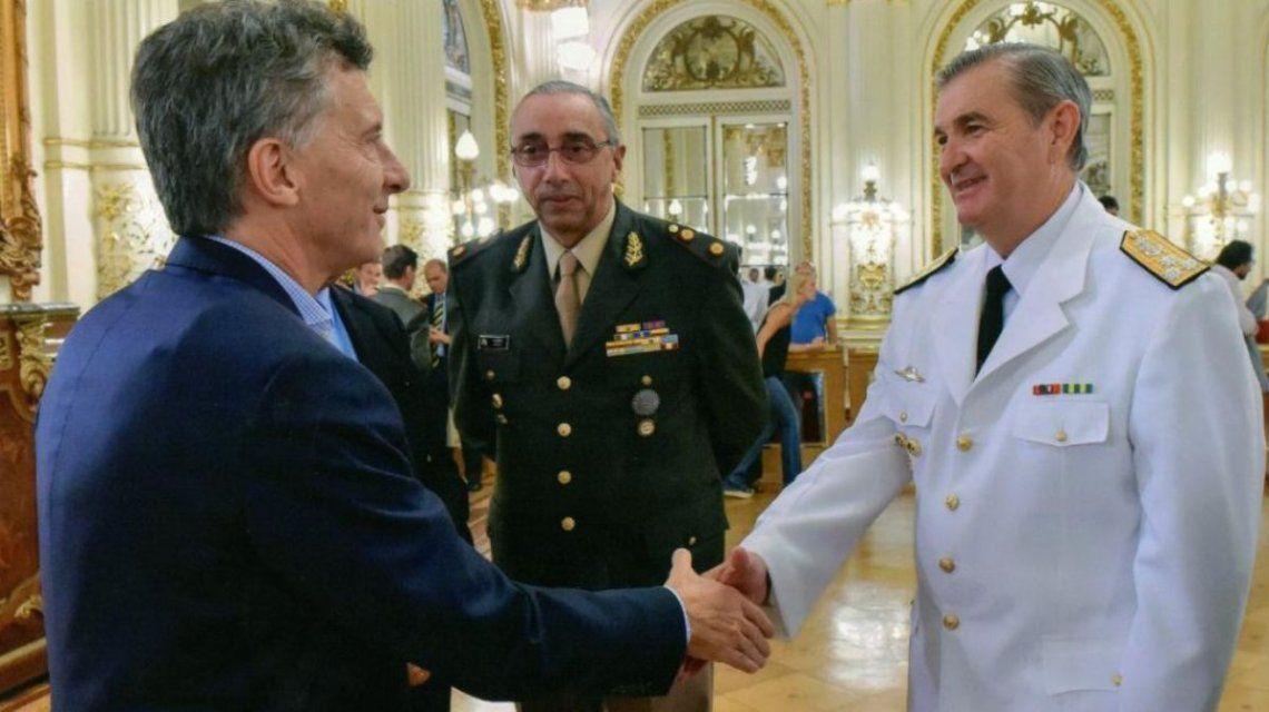 Mauricio Macri con Marcelo Srur