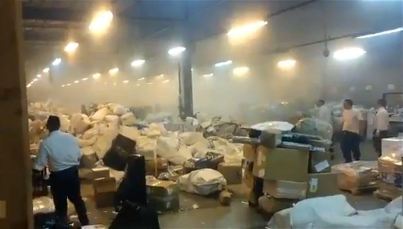 Explosión en Correo Argentino de Esteban Echeverría