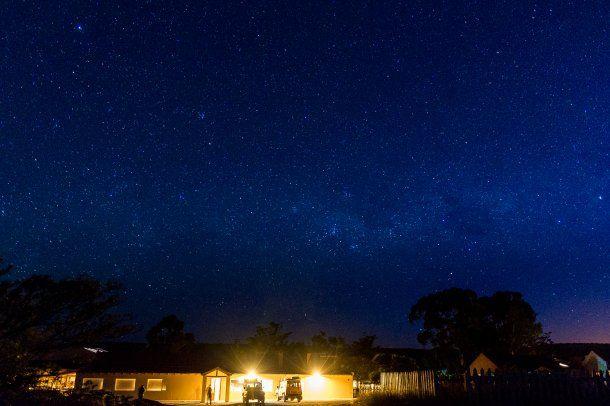 Noche en la estancia San Guillermo<br>