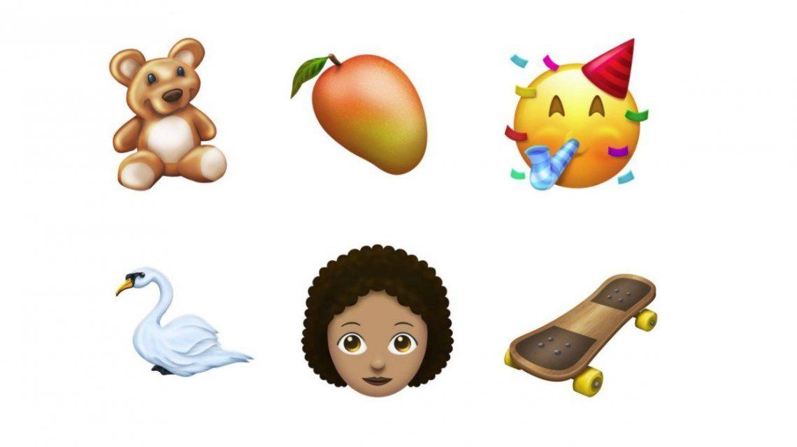 Los nuevos emojis que estarán disponibles en iOS y Android en 2018