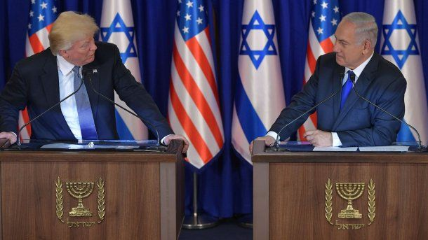 Donald Trump y Benjamin Netanyahu<br>