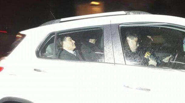 Carlos Zannini fue detenido en Río Gallegos<br>