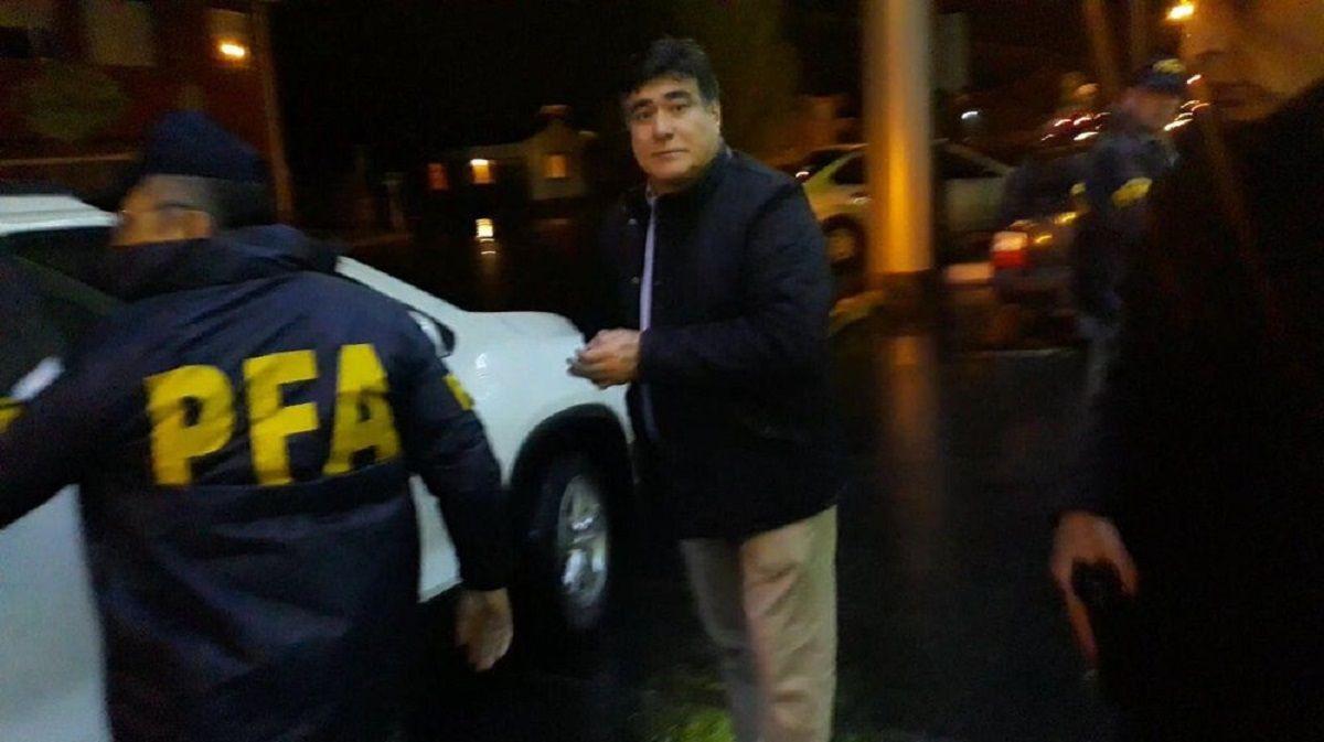 Carlos Zannini fue detenido en la madrugada de este jueves
