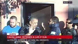 Tras la detención de Zannini, la policía se encuentra en la casa de Luis DElía