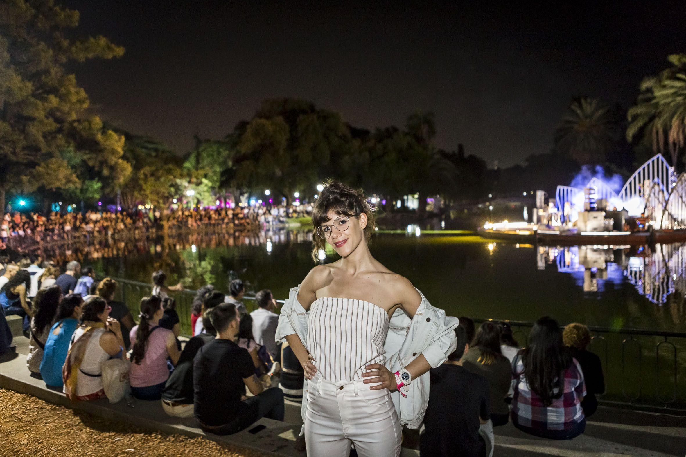 GALERÍA: Violeta Urtizberea y Julieta Nair Calvo, brillaron en La Noche de los Jardines