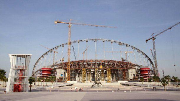 <p>Las obras en Qatar ya provocaron 2000 muertos</p>