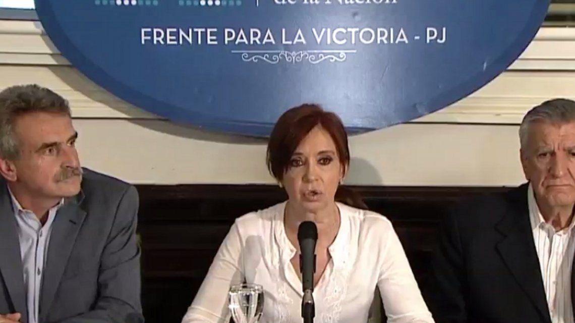 Cristina responsabilizó a Macri por su procesamiento y las detenciones: Es un intento de disciplinamiento