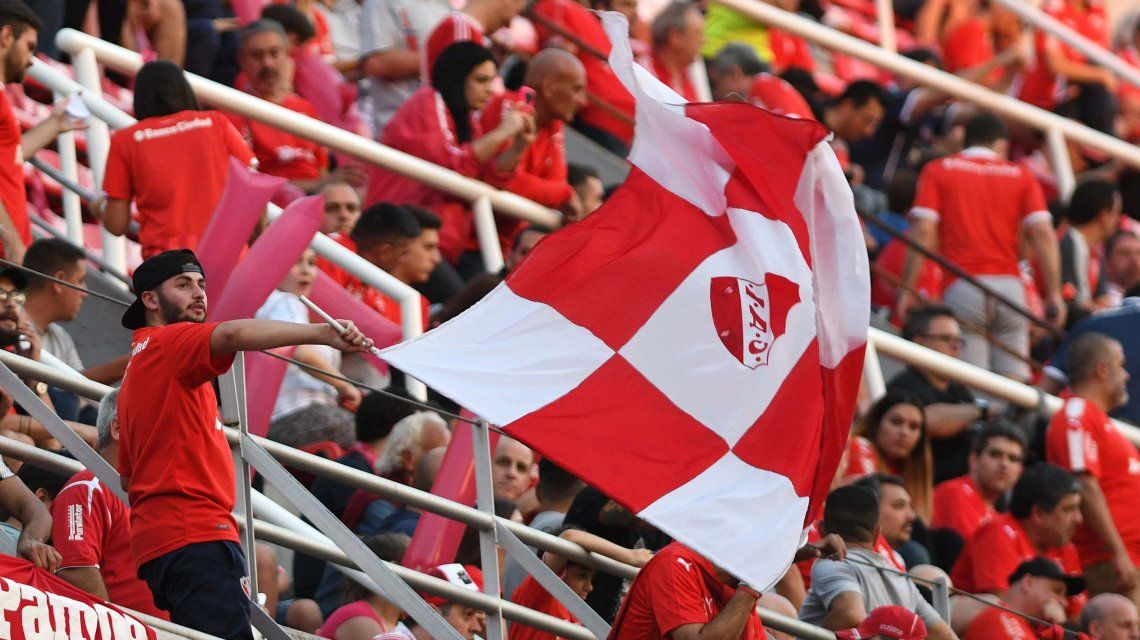Problemas en Independiente para vender las entradas del partido con Flamengo