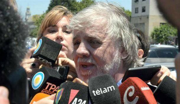 El abogado de Zannini, Mariano Fragueiro