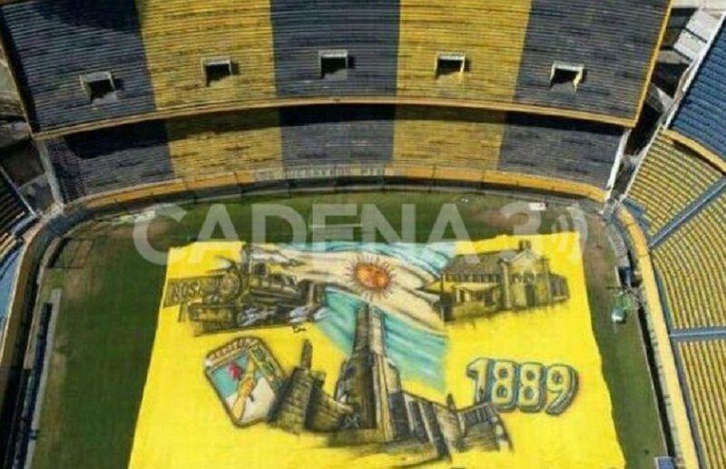 Este fin de semana, Rosario Central estrenará la bandera más larga del mundo
