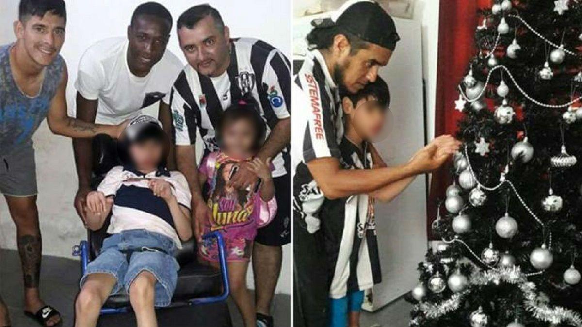 Un chico con parálisis armá el arbolito - Crédito:diariopanorama.com