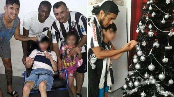 Un chico con parálisis armá el arbolito - Crédito: diariopanorama.com