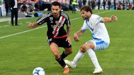 Scocco anotó el primer tanto para el Millonario
