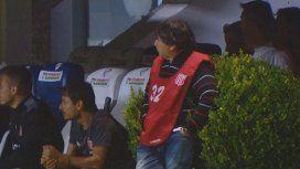 El Brujo Manuel estuvo en la cancha de Quilmes para darle fuerzas a Estudiantes de La Plata: perdieron