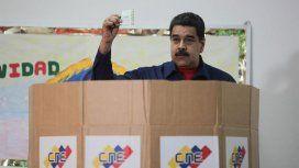 Nicolás Maduro tras votar en las municipales de este domingo