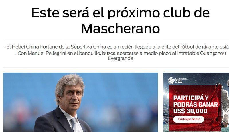 Mascherano cobraría en China el triple que en Barcelona y jugaría con Lavezzi