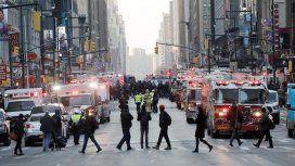 Las calles de Manhattan tras el atentado