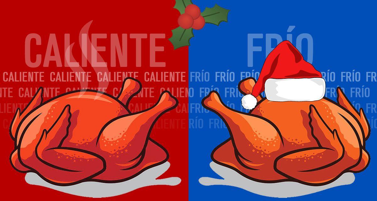 ¿La cena navideña tiene que ser fría o caliente?