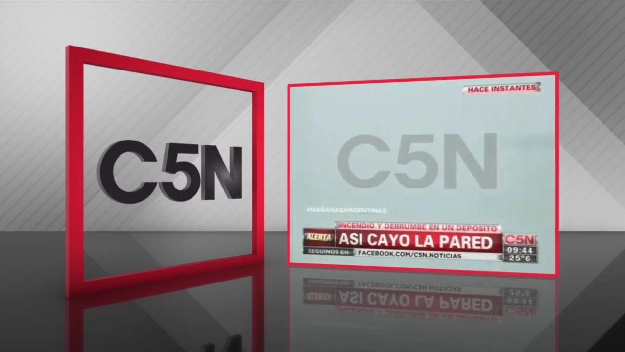 C5N en peligro: el video de una de las coberturas más dolorosas