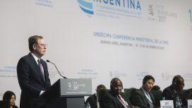 Robert Lightlizer, representante de Estados Unidos en la cumbre de la OMC de Buenos Aires