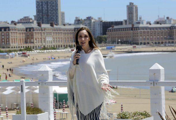 María Eugenia Vidal en Mar del Plata<br>