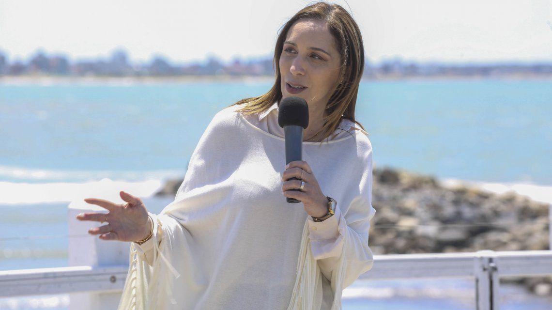 María Eugenia Vidal en Mar del Plata
