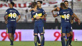 Boca festeja el cierre del 2017 como puntero
