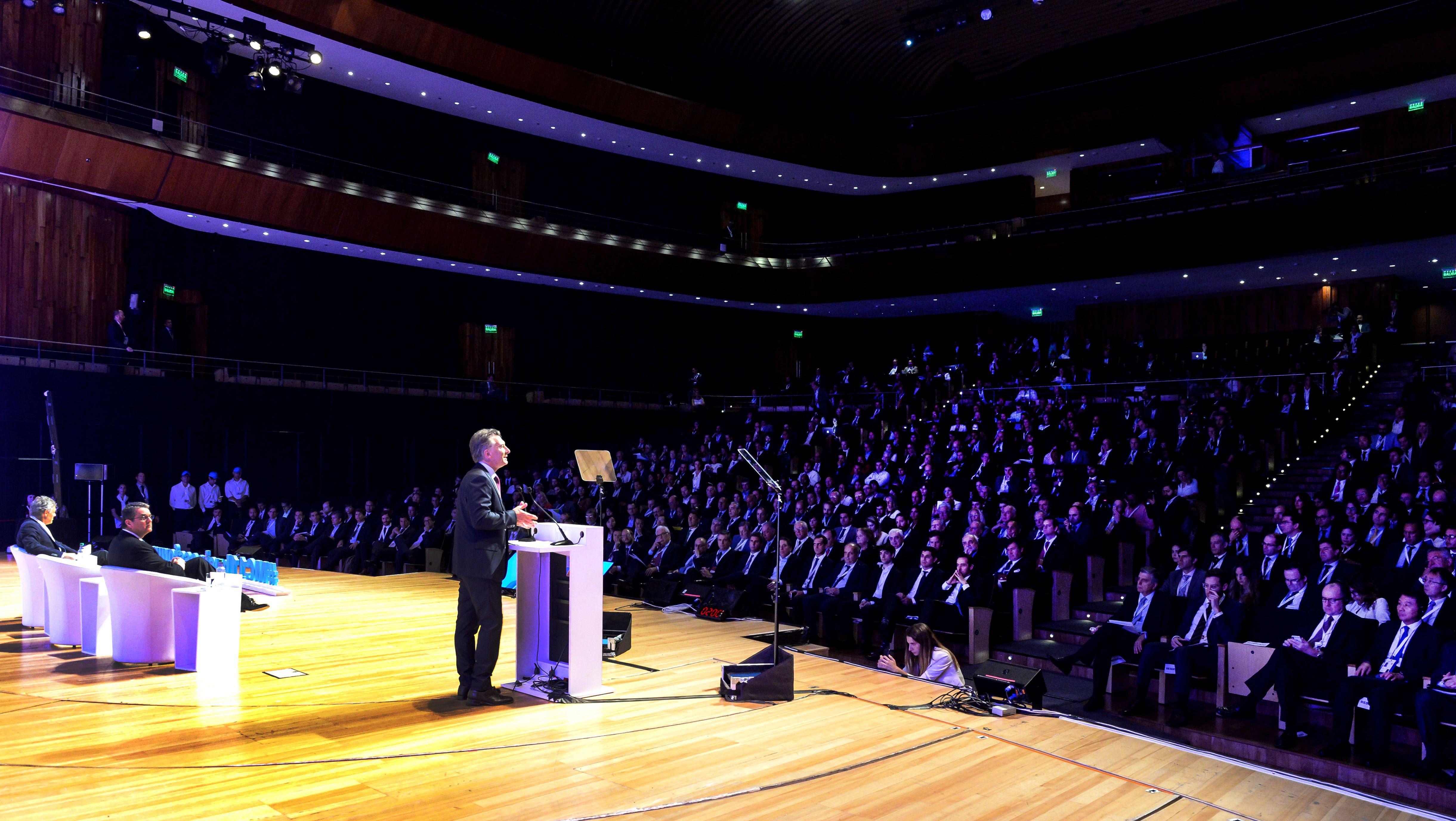 Macri inauguró el foro de la OMC