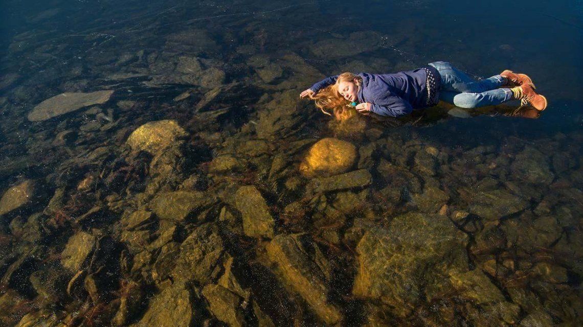 VIDEO: Lograron captar el sonido alienígena que se escucha bajo un lago congelado