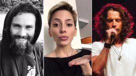 Santiago Maldonado, Rocío Gancedo yChris Cornell