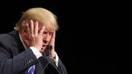 Donald Trump y un duro golpe para su agenda