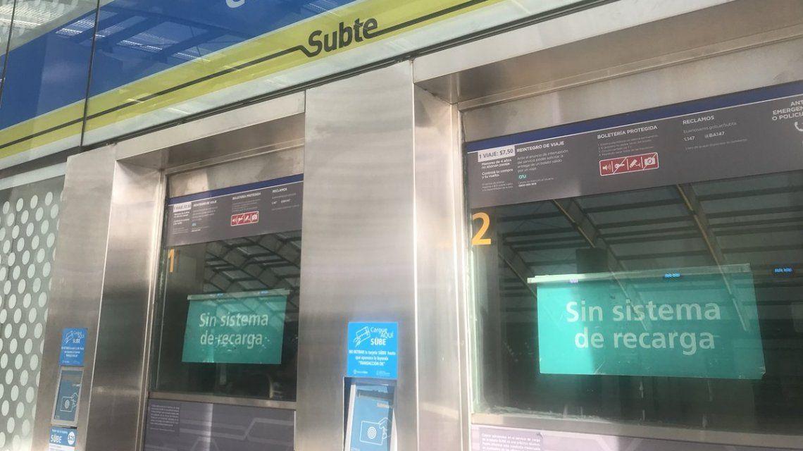 Mañana complicada para viajar: los pasajeros tuvieron problemas para cargar la SUBE