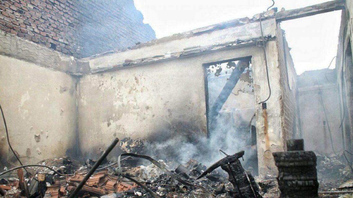 Mar del Plata: dos mujeres hicieron un asado y se les incendió la casa