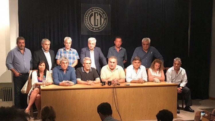 La CGT anunció un paro nacional para el viernes contra la reforma previsional